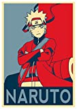 Instabuy Poster Naruto Propaganda Uzumaki - A3 (42x30 cm)