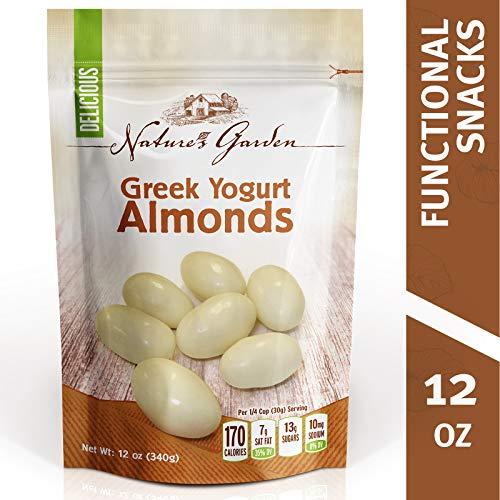 Nature's Garden Greek Yogurt Whole Almonds - 12 oz.
