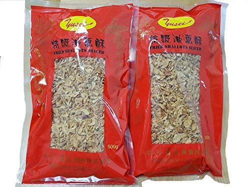 500gの2袋セット 油葱酥 フライドエシャロット 赤ネギ 揚げねぎ 油ねぎ 500g x 2袋