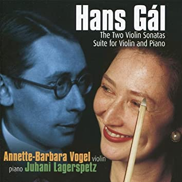 Gál: Works for Violin and Piano