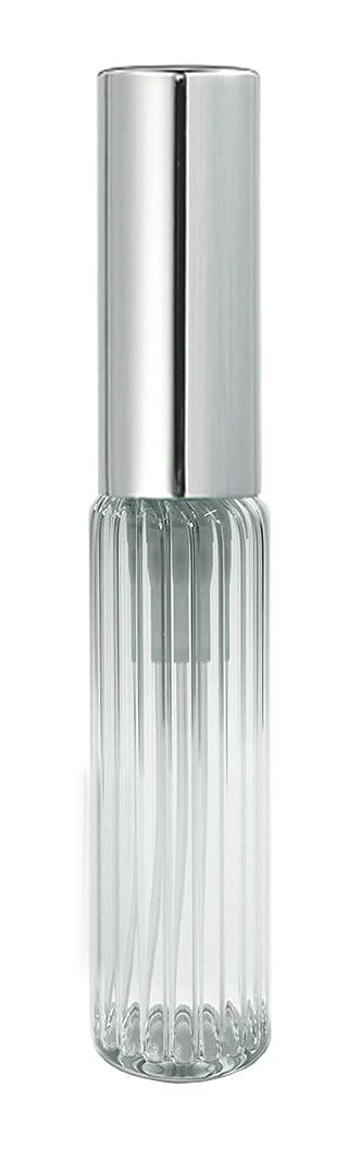 平等いつかレーニン主義60502 グラスアトマイザー ストライプ シルバーキャップ
