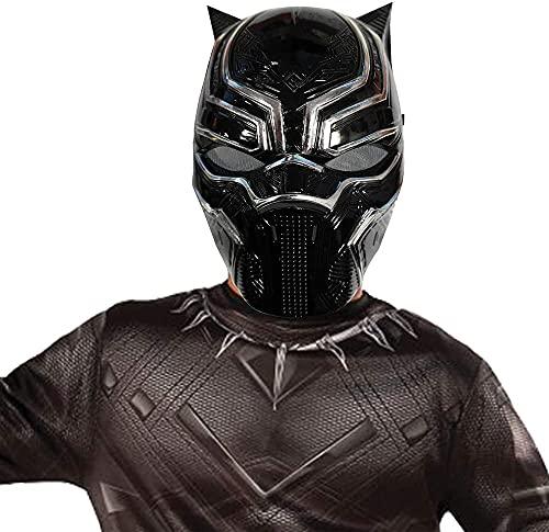 Marvel - Máscara de Black Panther (Pantera Negra), Talla única infantil (Rubie's 39218)