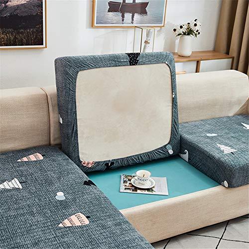 Fundas de cojín para sofá y sofá, elásticas, de repuesto para cojines individuales (árbol, 2 plazas)