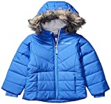 Columbia Girls' Big Katelyn Crest Jacket, Arctic Blue, Medium (10/12)