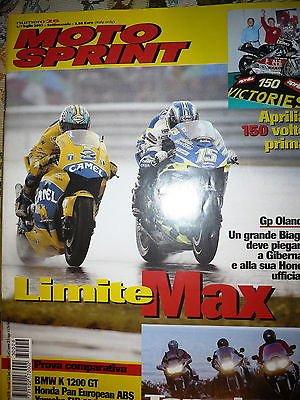 Moto Sprint N.26 2003 :BMW K 1200 GT, Honda Pan European ABS FF10