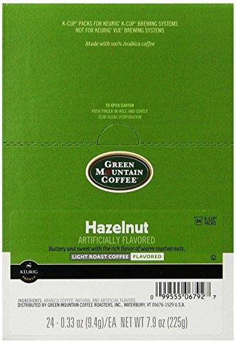 Green Mountain Coffee Roasters 6792CT Hazelnut Coffee K-Cups, 96/carton