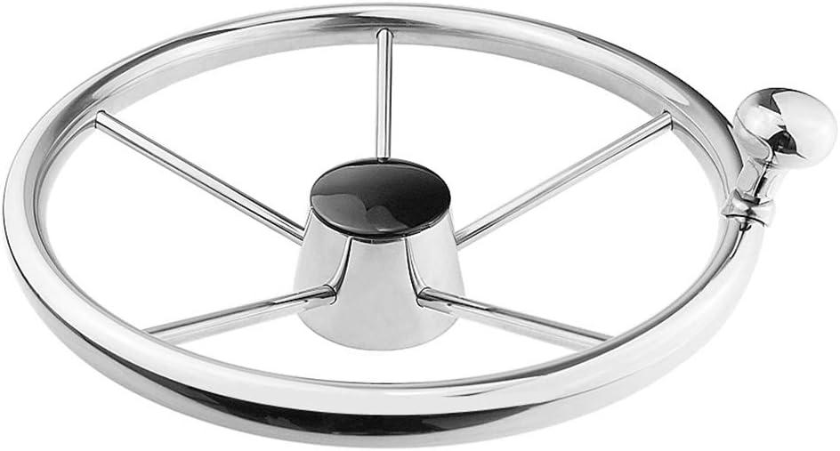 13.5 Inch Boat Luxury goods Sacramento Mall Steering Wheel 13 1 Stainless Steel Wh Spoke 3 2