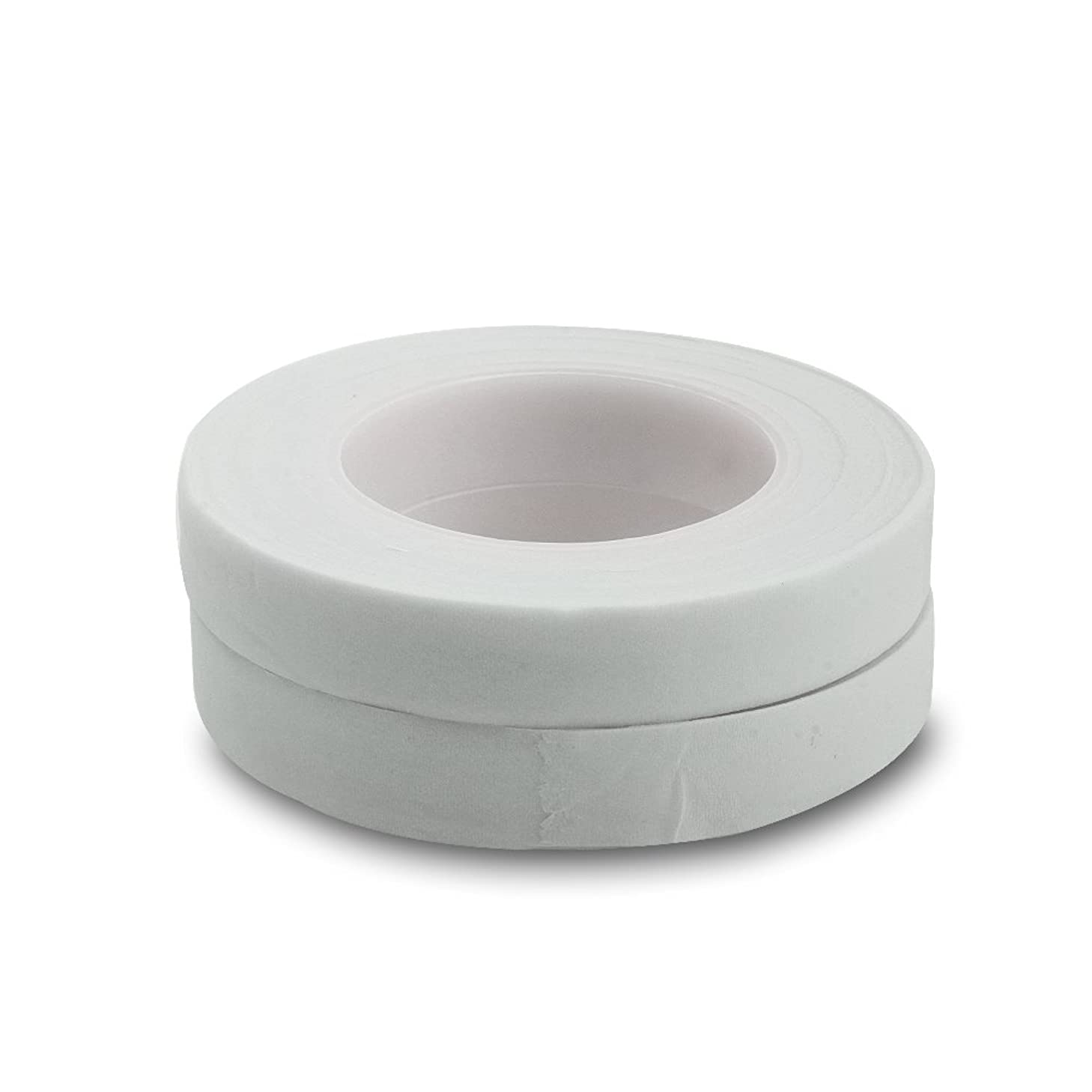 Topenca Supplies Floral Tape White, 1/2 Inch Wide x 30 Yards, 12 Pack, Ideal for Bouquet Stem Wrap Floral Arranging and Craft Projects
