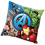 Kids Licensing | Cojin Infantil - Diseño Personajes Vengadores - Personajes Marvel - Cojín...