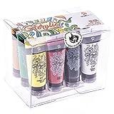 Set Pittura Colori Acrilici Craftamo in Tubi 12x27ml. Set Pittura Colori Acrilici da usare su Tela, Tessuto, Modelli, Vetro, Argilla o come Set per Artigiani