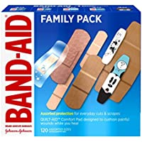 120-Count Band-Aid Brand Adhesive Bandage Pack