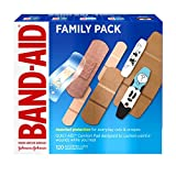 Band-Aid Brand Adhesive Bandage Family Variety Pack in Assorted Sizes including Water Block, Sport...