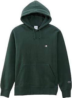 [チャンピオン] パーカー トレーナー 長袖 裏起毛 定番 ワンポイント刺繍フーデッドスウェットシャツ C3-Q105 メンズ