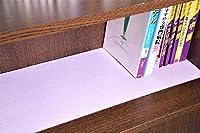 (防カビ乾燥剤入) 本棚用除湿シート 【奥行20cm×3.8m】×【3枚】 (全面に シリカゲル 乾燥剤 防カビ剤 が入ったシート)【滑り止め加工】