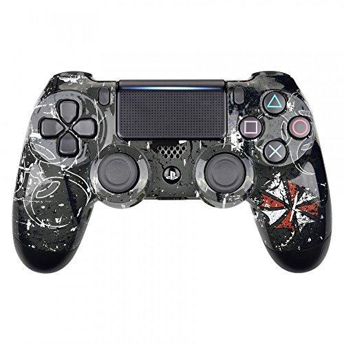 Controller Monkeys - PS4 Oberschale für JDM-040 /-041 /-030 /-050 /-055 Controller - Glänzend Design (Resident Evil)