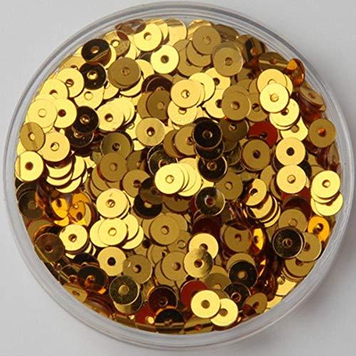 3 mm, 4 mm, 5 mm, 6 mm, redondo, plano PVC, lentejuelas