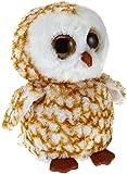Ty Beanie Boos Buddies Swoops Brown Barn Owl Medium Plush
