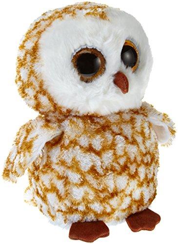 TY 7136995 - Swoops Buddy - Schleiereule, Beanie Boos, Large, 24 cm