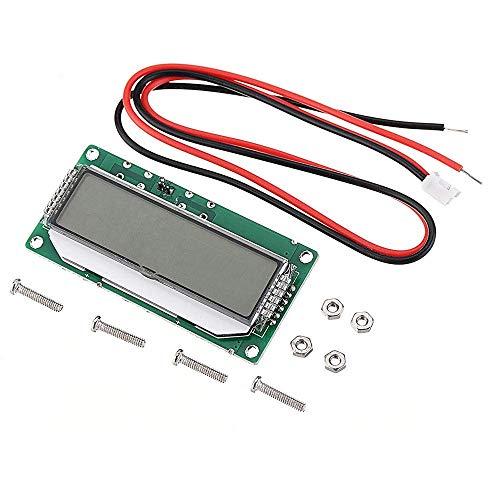 KAIBINY Módulo de DC 12V-60V 2S-15S LCD de Plomo ácido de la batería de Litio de energía Voltímetro la Pantalla del medidor de batería Capacidad del indicador del Controlador Módulos