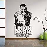 Rock Style Wohnkultur Linkin Park Vinyl Wandaufkleber
