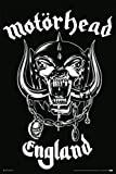 The Poster Corp Motorhead Made in England Laminiertes