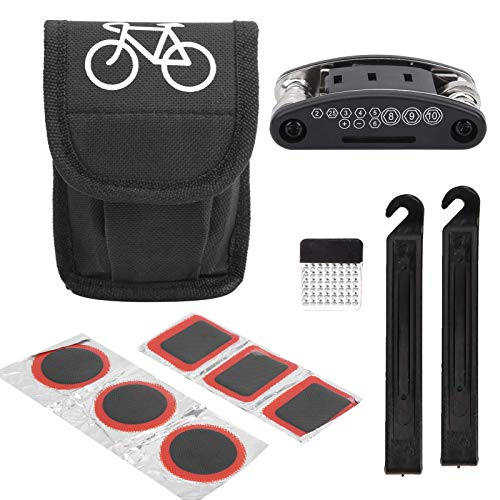 Juego de herramientas de reparación de bicicletas, herramienta de reparación de neumáticos de bicicletas, profesional para taller de reparación de bicicletas en el hogar