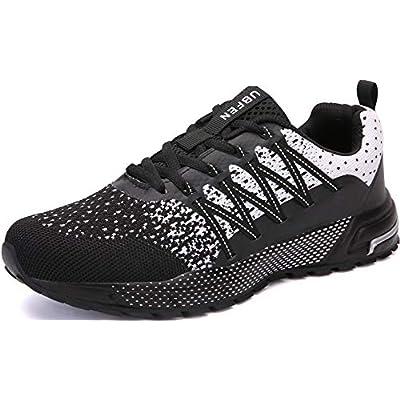 KUBUA Mens Running Shoes Womens Walking Gym Tra...