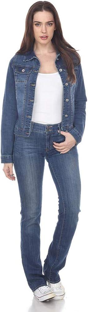 white mark Women's Stylish Denim Jacket