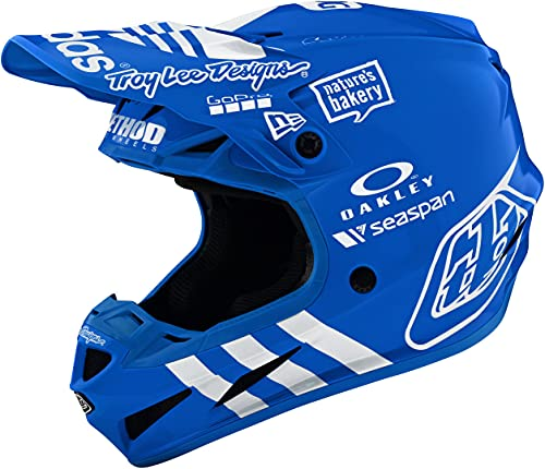 Troy Lee Designs 105800005 Se4 Ece Composite Helmet, Adidas Team Blue Xl