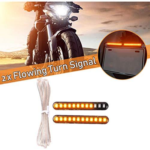 Dlll 2/x ambra Lens alloggiamento cromato proiettile anteriore posteriore girare segnale indicatore luce lampeggiante per moto Street standard Custom Bike Cruiser bobber chopper