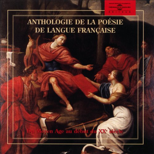 Anthologie de la poésie de langue française  audiobook cover art
