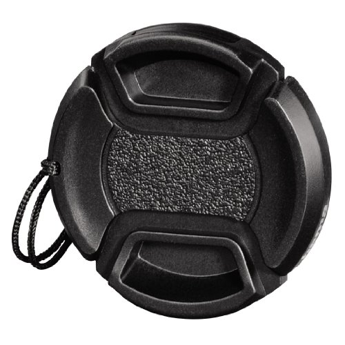 Hama Objektivdeckel für 40.5 mm Objektiv, Sicherungskordel, Smart Snap, Schwarz