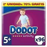 Dodot Activity Pañales Talla 5+, 96 Pañales - 12-17 kg