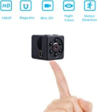1080P HD Mini Camera Nanny Cam with Motion Detection Mode for Home Security Support up to 32G Micro SD Card (Not Include) …