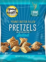 Good Health Peanut Butter Pretzels Salted 5.5 Ounce Bags (Pack of 12) [並行輸入品]