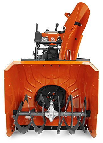Cheapest Prices! Husqvarna ST224P, 24 in. 208cc Two-Stage Gas Snow Blower with Power Steering and El...