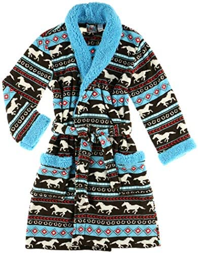 Lazy One Horse Fair Isle Ultra Cozy Bathrobes for Women S M product image