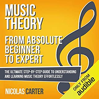 Music Theory: from Absolute Beginner to Expert cover art