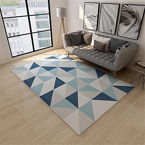 Alfombras De Habitacion Grande Azul alfombras de habitacion  Marca Kunsen