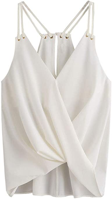Proumy Camisola Moda Camiseta de Tirantes Mujer Chaleco ...