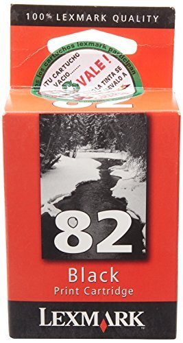 2 cartuchos de tinta Lexmark 82, color negro (18L0032)