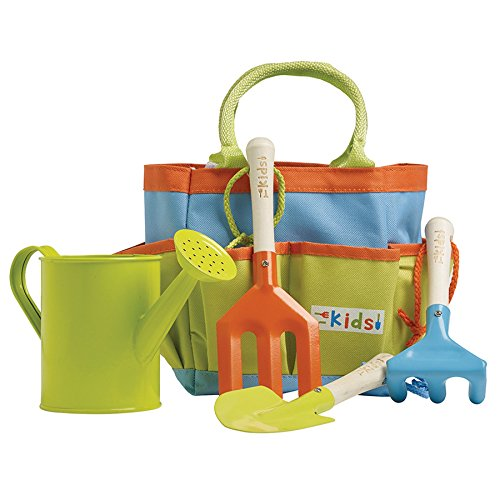 Briers B5101 tuinwerkset voor kinderen met tas, meerkleurig, 19,95 x 24,7 x 34,15 cm