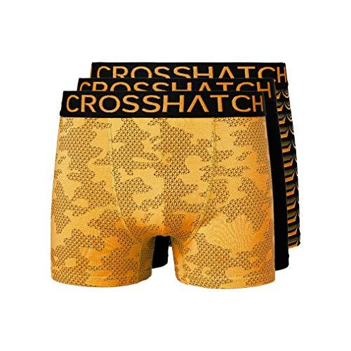 Crosshatch Heren Boxers Shorts (3 Pack) Meerdere ondergoed Gift Set Stylefour