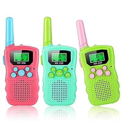 Walkie Talkies for Kids, 3 Pack 22 Channels 2 W...