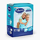 Best Adult Diapers - Liberty Adult Diaper, Medium -10 Count Review