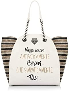 Amazon.it: Le pandorine Donna Borse: Scarpe e borse