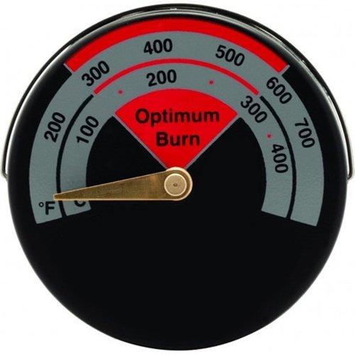 Kabalo Indicateur de Température Thermomètre pour Tuyau de Poêle du Tuyau d'évacuation, magnétique