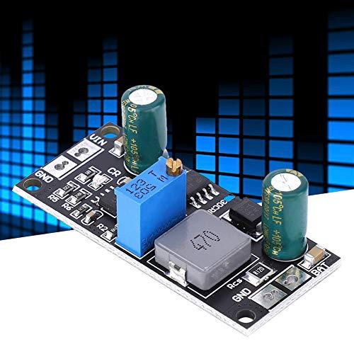Kuuleyn Módulo de Carga, Controlador de Panel Solar MPPT, módulo Cargador de batería de Litio Li-Ion LiFePO4, para Carga de batería de automóvil, Carga de batería Solar, 1A 12V