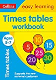 TIMES TABLES 5-7 WB: Ideal for home learning (Collins Easy Learning KS1)