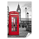 Postereck - 0124 - Rote Telefonzelle, London Big Ben